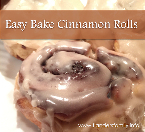 Easy-Bake Cinnamon Rolls
