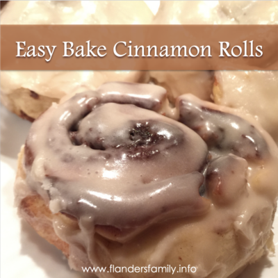 Easy-Bake Cinnamon Rolls