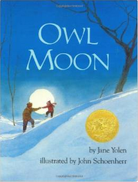 Picture Books about Snow - Owl Moon