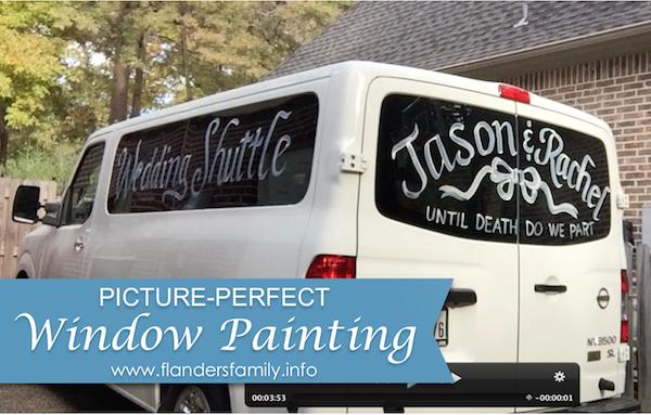 FF - Window Painting