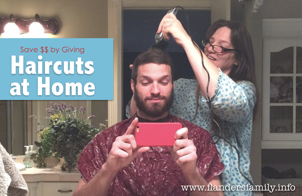 Save Money by Giving Haircuts at Home