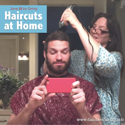 Save Money by Cutting Hair at Home