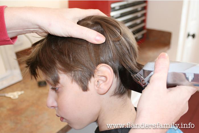 Haircuts at Home 9