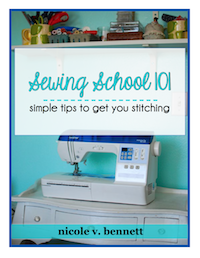 Sewing School 101