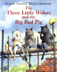 Book - 3 Little Wolves