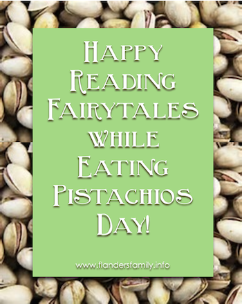 Fairytales and Pistachios - An Enchanted Combination