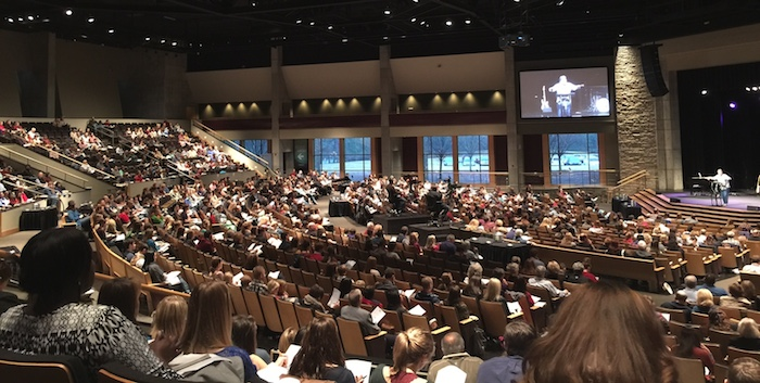 services at The Church at Brook Hills in Birmingham, AL