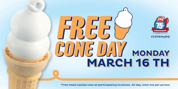 Free Cones, Kids Meals & Birthday Treats