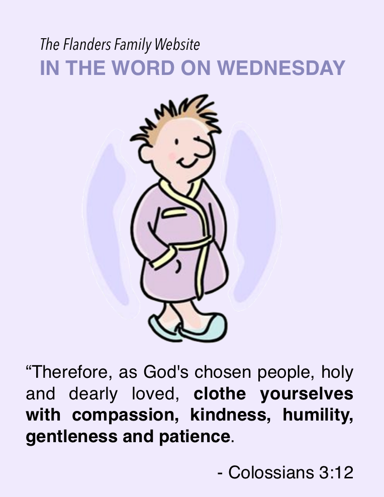 In the Word on Wednesday: Colossians 3:12