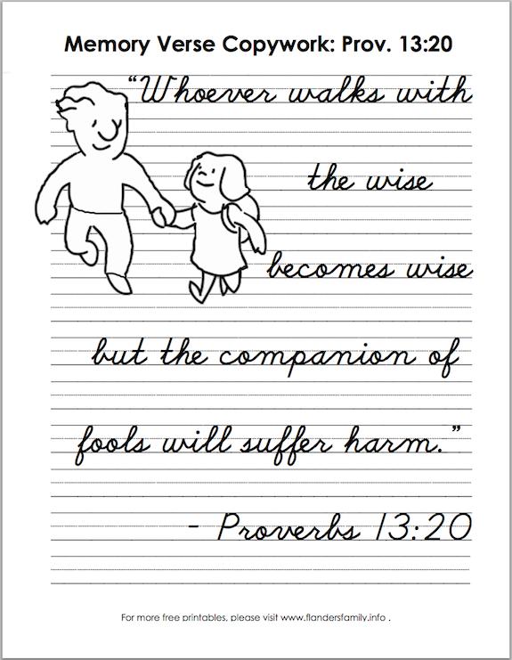 Proverbs 13.20