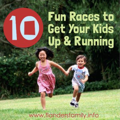 10 Fun Races to Get Kids Up & Running