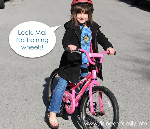 Abby on Bike 2