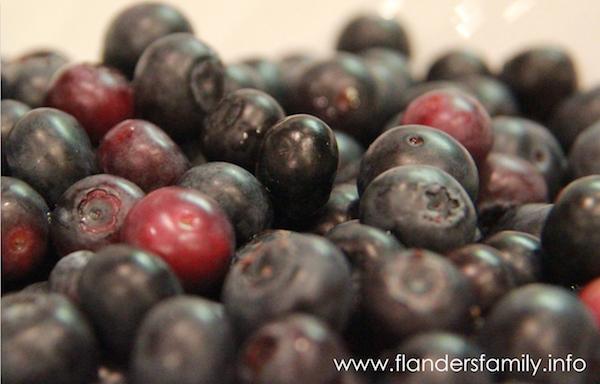 Fresh fruit crumble recipe -- it's delicious!