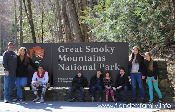 A family trip to Gatlinburg, Tennessee