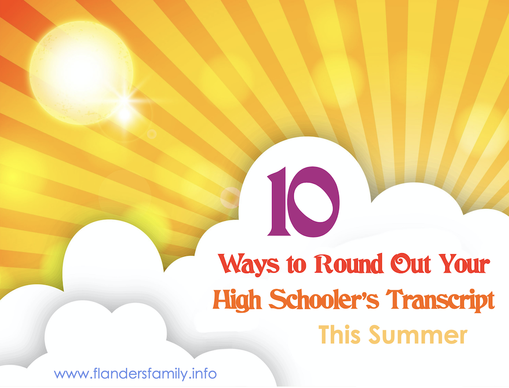10 Ways to Round Out Your Transcript