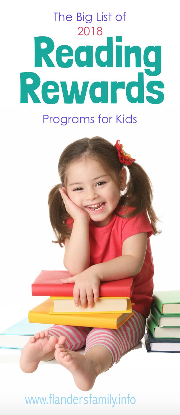 FREE Reading Reward Programs for Kids