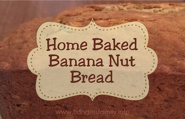 Recipe: Banana Nut Bread