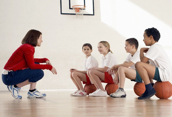 School Children in Physical Education Class --- Image by © Royalty-Free/Corbis