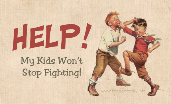 Q&A: My kids won't stop fighting. I'm desperate and don't know what to do. Help!