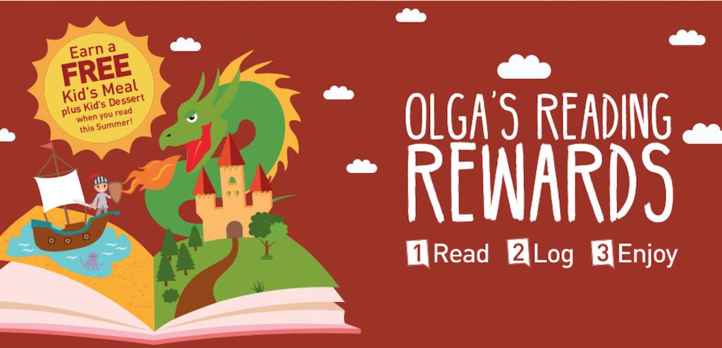 Olga's Reading Rewards