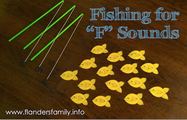 """Goin' Fishin' for """"F"""" Sounds"""