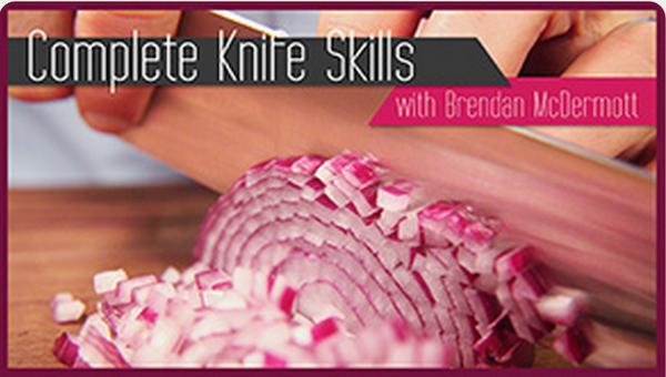 Free Craftsy Mini-Class:  Knife Skills