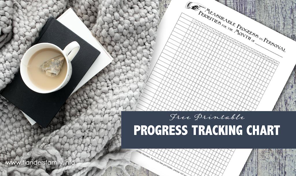 Progress Tracking Chart