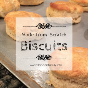 -- Scrumptious recipe for old-fashioned biscuits