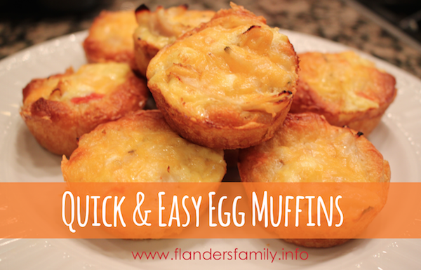 Quick & Easy Egg Muffins