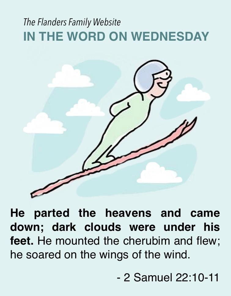 Word on Wednesday: 2 Samuel 22:10