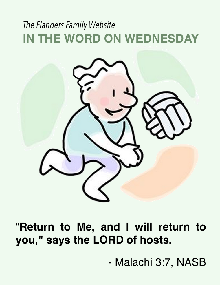 Word on Wednesday: Malachi 3:7