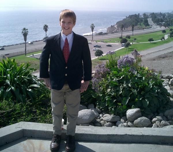 Samuel at 11