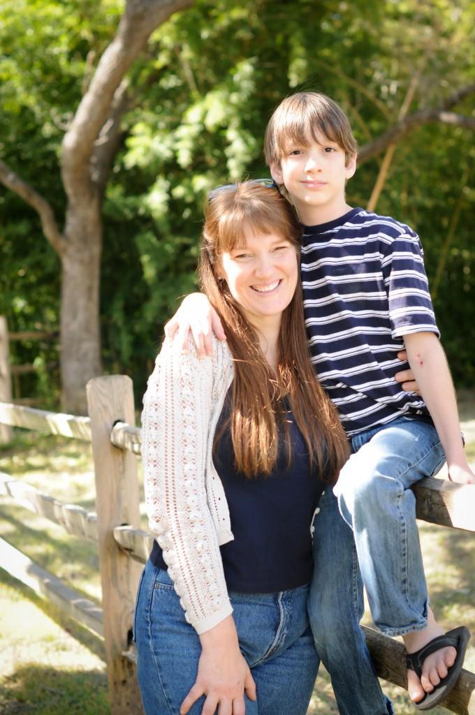 Mom and Isaac