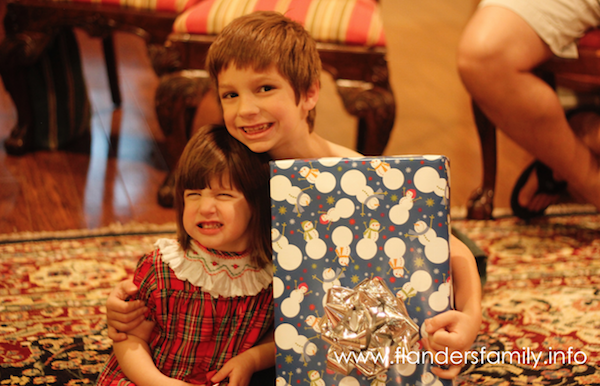 Large Family Christmas: What do you do about gifts?