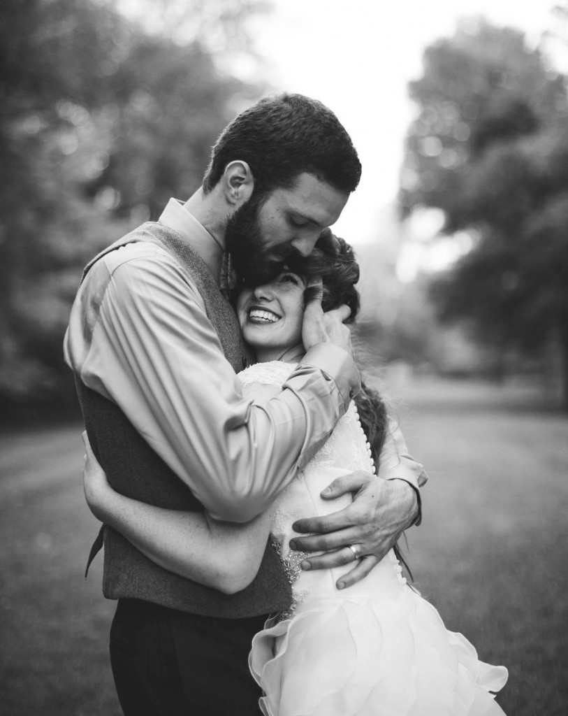David and Bonnie - wedding portraits by GraceAnne Photography