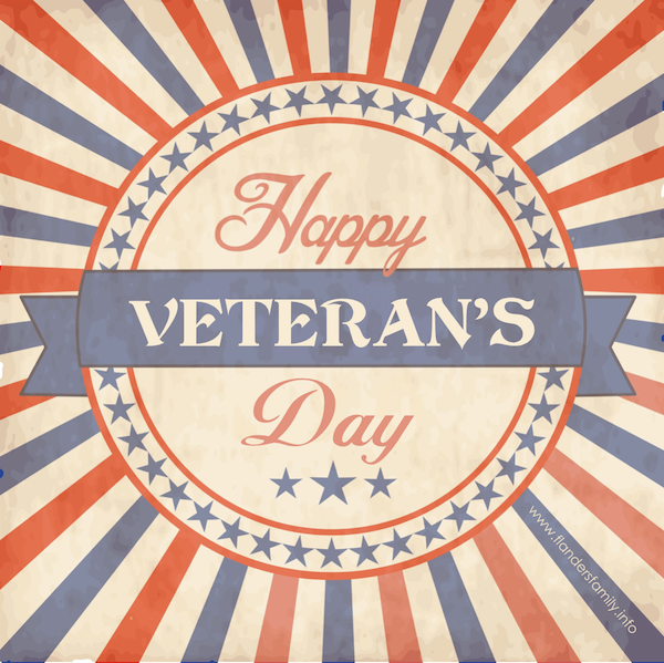 If you enjoy living in a free country, thank a vet!