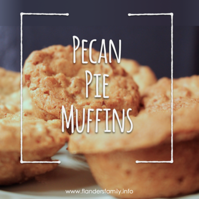 Scrumptious Pecan Pie Muffins
