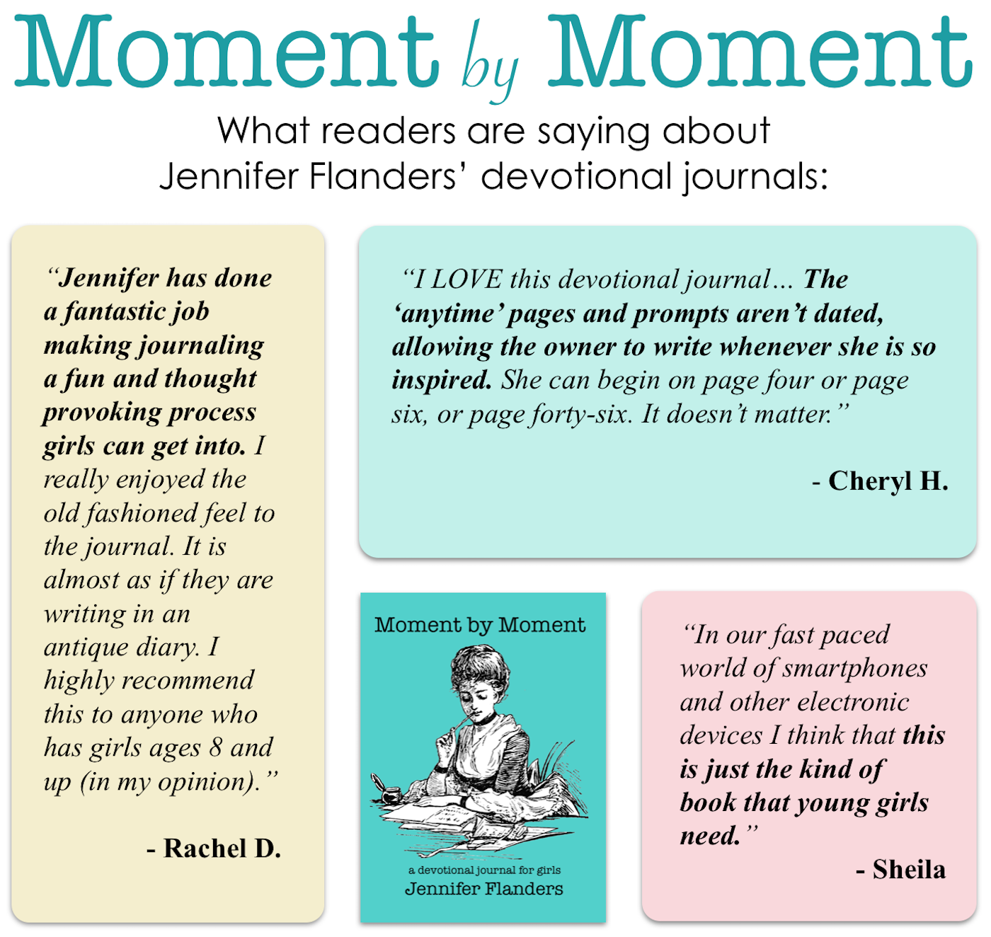 Praise for Our Devotional Journals