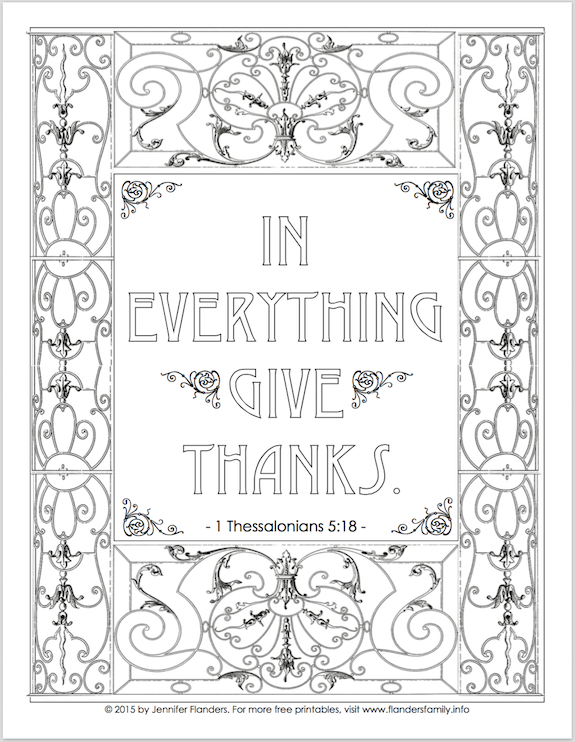 Free printables to color for Thanksgiving from www.flandersfamily.info