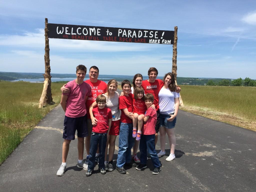 Family trip to Branson, MO