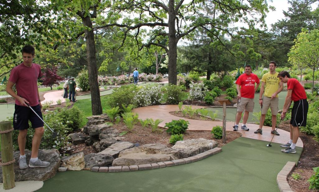 Golfing at Big Cedar Lodge