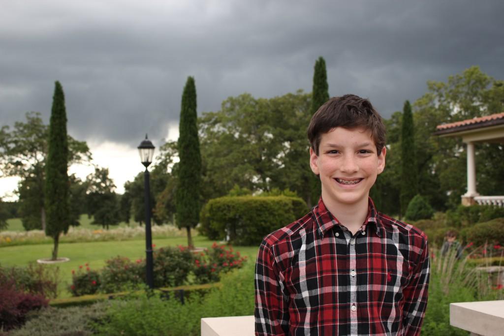 Isaac turns 12