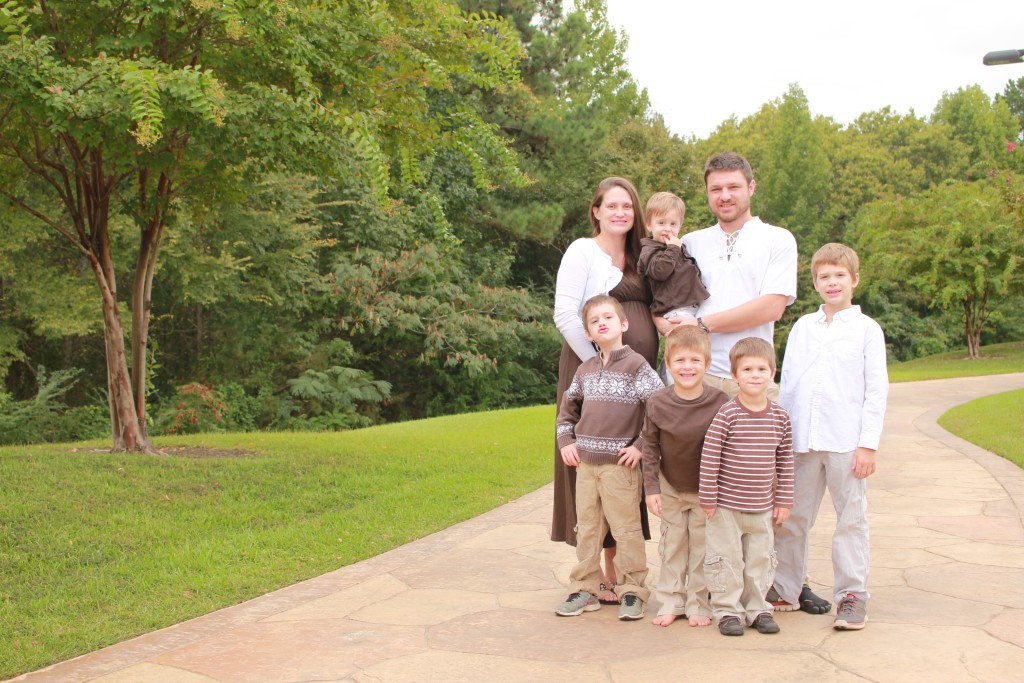 Five Grandsons plus one on the Way