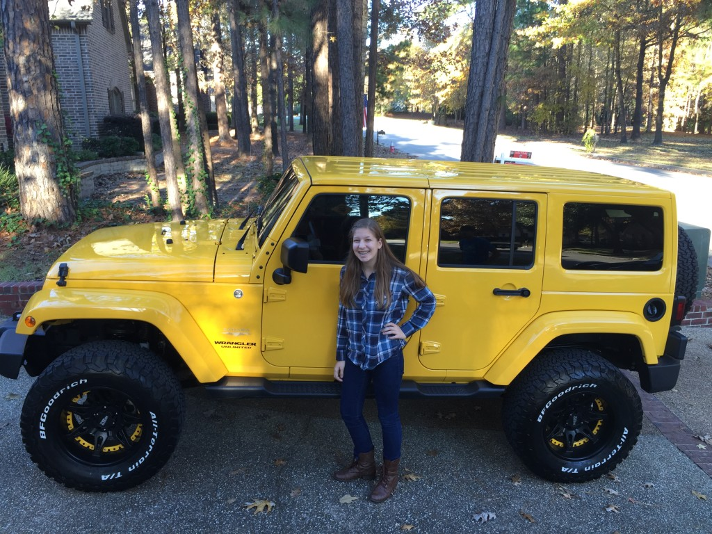 Rachel and the Jacked-Up Jeep