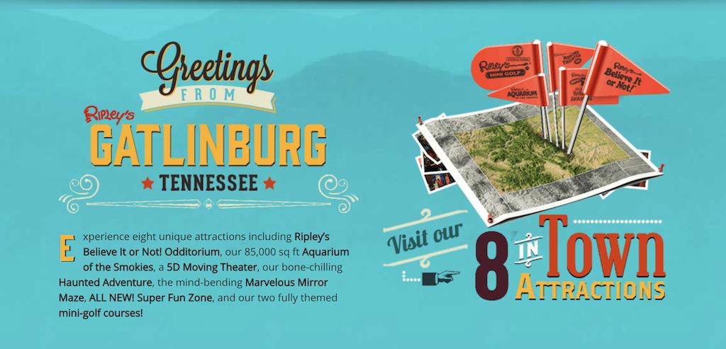 8 Ripley's Attractions in Gatlinburg