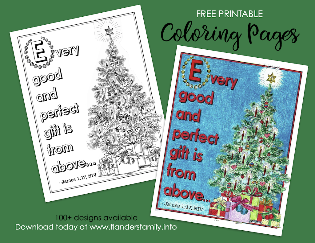 Every Good Gift Coloring Page