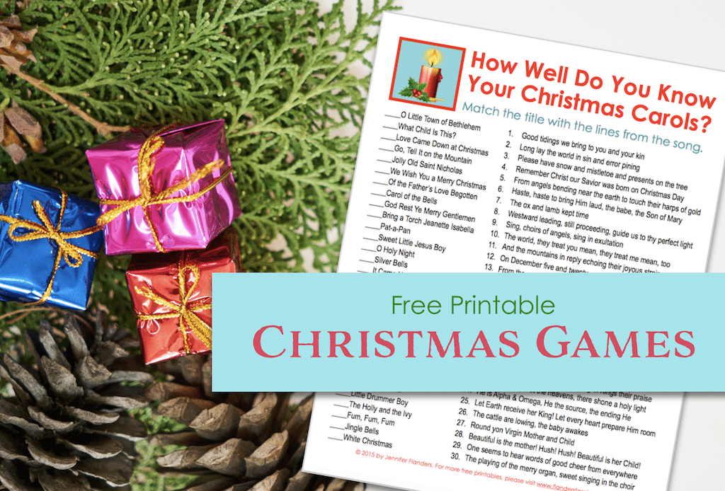 How Well Do You Know Your Christmas Carols