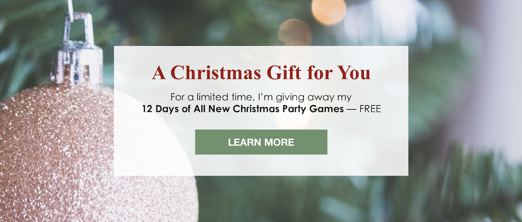 12 Days of All New Party Games
