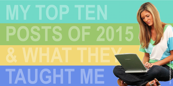 Top Ten Posts of 2015 {and What That Means}