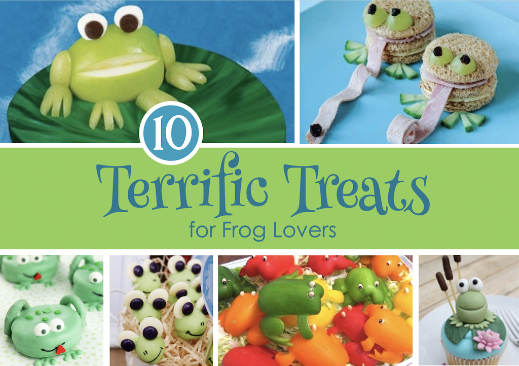 10 Terrific Treats for Frog Lovers